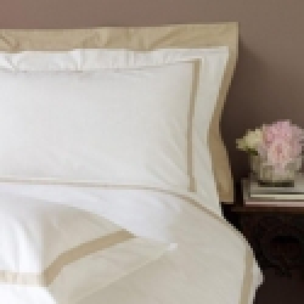 Double Shaped Duvet Cover (240 thread) - Milano Gold-0