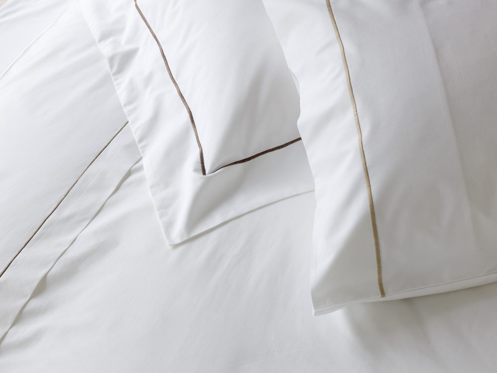 Double Shaped Duvet Cover - Taupe-0