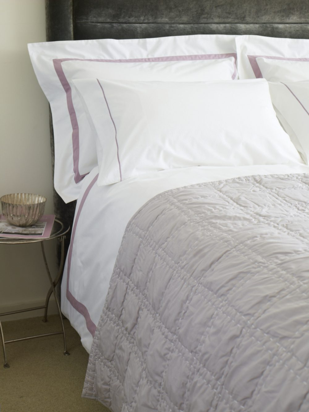 Housewife Pillow Cases - Milano Grey-0