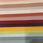nauteriors shaped bedding sheet colour swatches