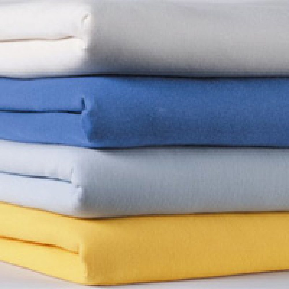 Double Shaped Top Sheets - Milano White/Navy-0