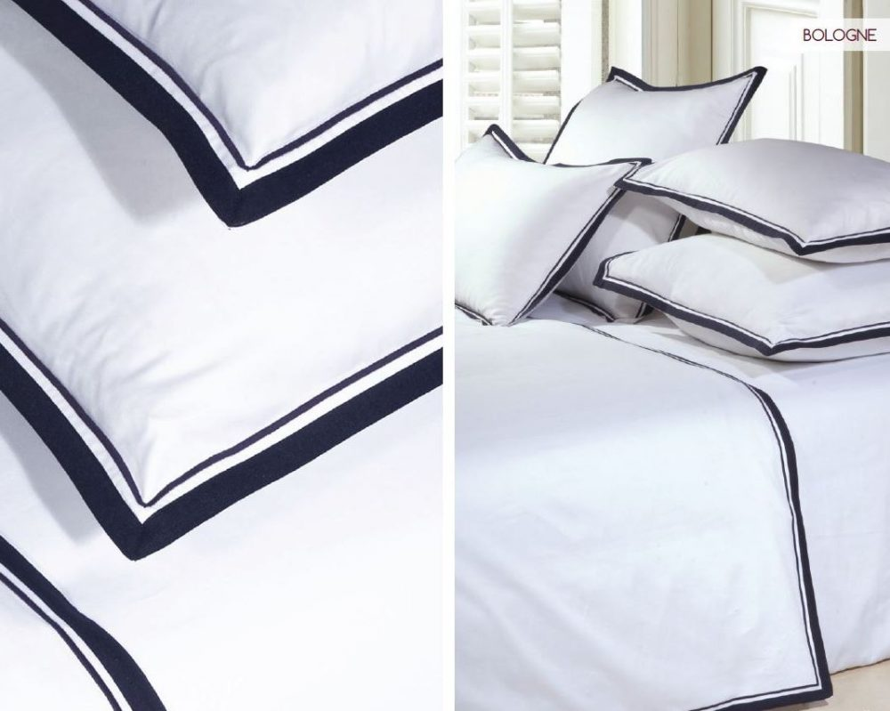 Double Shaped Duvet Cover - Bologne-0