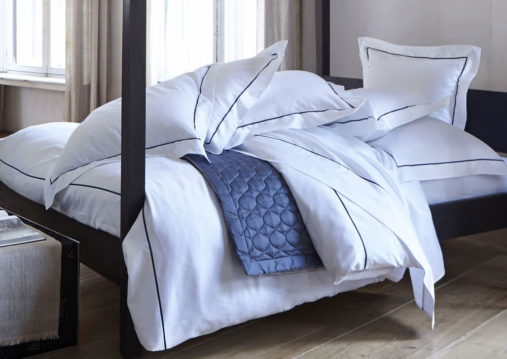 Satin Pinstripe Single Duvet Cover-937