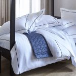 Satin Pinstripe Double Duvet Cover-941