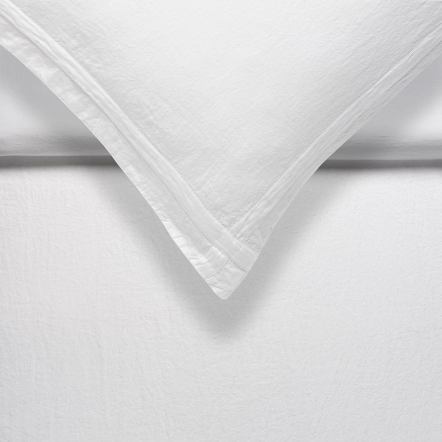 pure linen mix pure white