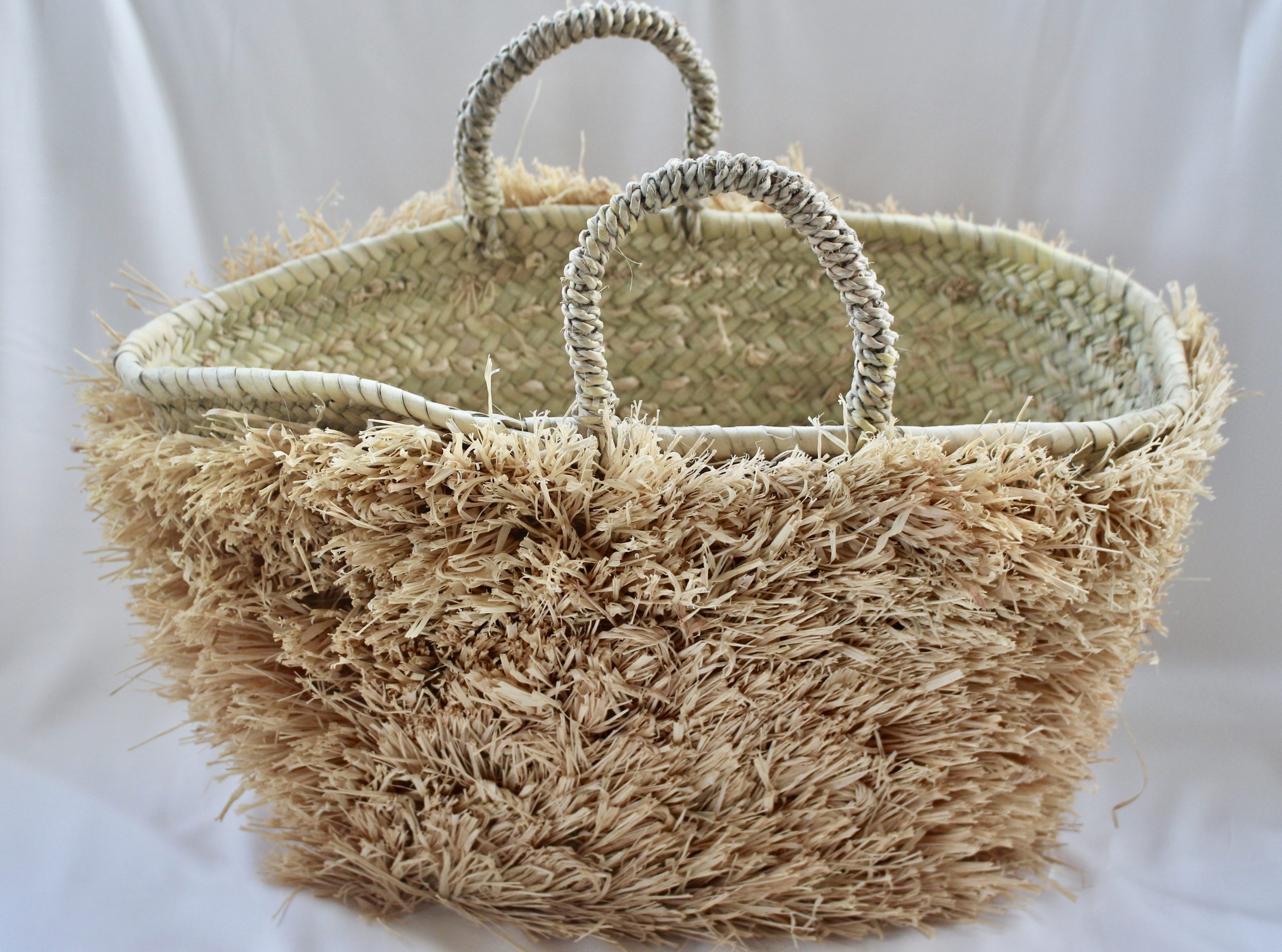 Fluffy Wicker Basket